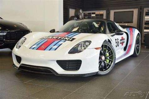 porsche 918 spyder white 2015 porsche 918 spyder white for sale on craigslist