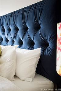 diy tufted headboard 15 Easy And Stylish DIY Tufted Headboards For Any Bedroom - Shelterness