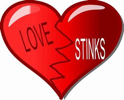 Heart Broken Clip Clipart Cartoon Dead Valentine