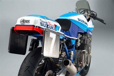 Classic Suzuki by Suzuki Gsx1100sd Katana Race Bike From Team Classic Suzuki