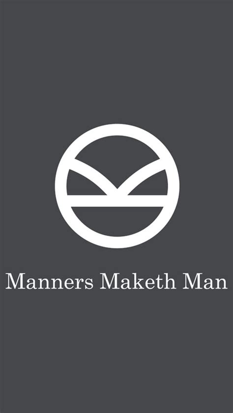 kingsman iphone wallpaper hq quote manner maketh man kingsman pinterest kingsman