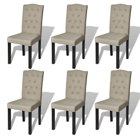 lot 6 chaises la boutique en ligne lot de 6 chaises de salle à manger