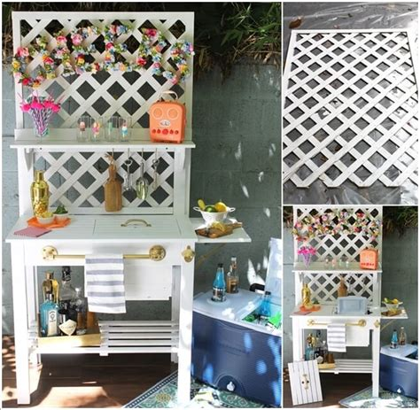 fabulous ways  decorate  lattice panels