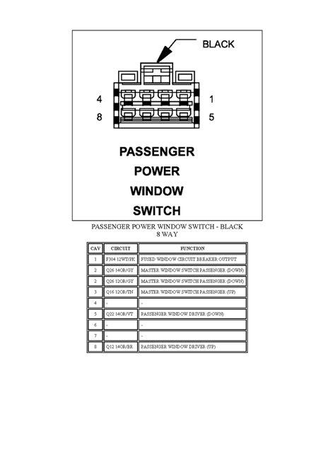 | Repair Guides | Connector Pin-charts (2007) | Passenger