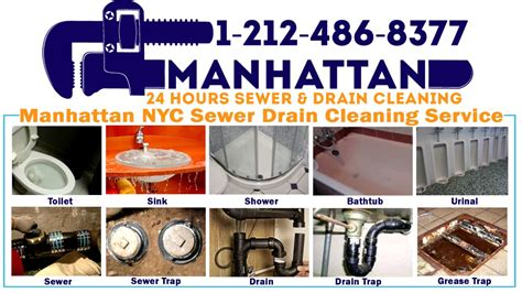 Sewer Cleaning Service by Sewer And Drain Cleaning Service In Manhattan Nyc New