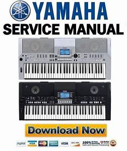 Yamaha Psr-550 Service Manual  U0026 Repair Guide