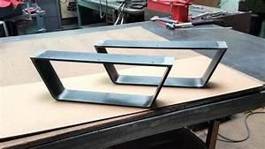 Pied De Table Basse Metal : pietement table basse luxe pied en metal pour table pietement table basse pieds metal pour ~ Teatrodelosmanantiales.com Idées de Décoration