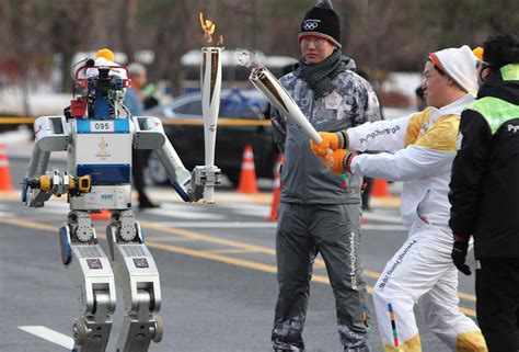 Robots Will Compete For Attention At 2018 Olympics