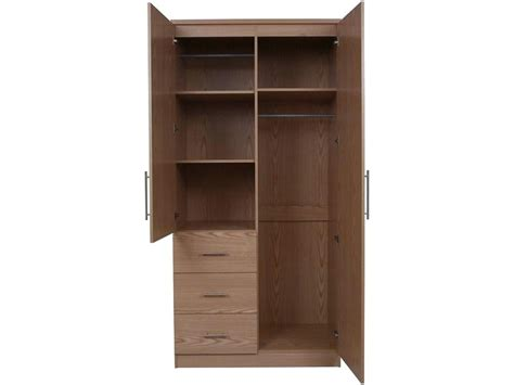 Wardrobe With Shelves And Drawers by 2019 2 Door Wardrobes With Drawers And Shelves