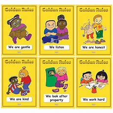 Individual Golden Rules A3 Posters (pack Of 6)  Jenny Mosley Education Training And Resources