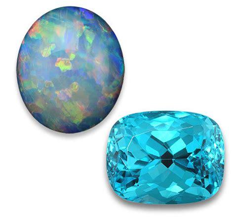 what is october s birthstone color october birthstones tourmaline opal gemstones