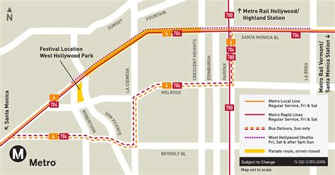 West Hollywood Halloween Parade Route by 100 West Hollywood Halloween Parade Route