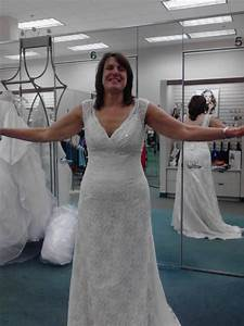 not bad for a 54 year old 1st time bride weddingbee With wedding dress for 40 year old brides