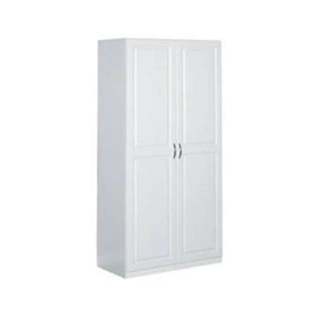 Kitchen Cabinets Organizers Home Depot by Closetmaid 36 In Laminated 2 Door Raised Panel Storage