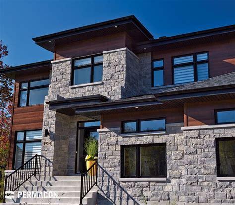 maison brique et bois facade de maison m langeant la et le bois poolhouse bois fa 231 ades et pierres