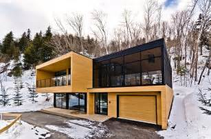 Modern Home Plans Canada Ideas by Contemporary Mountain Condominium Chalets