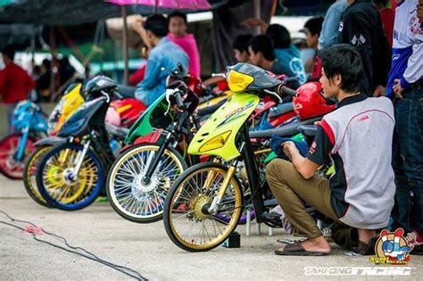 Modifikasi Motor F1 Zr Simple by Style Drag Bike Thailand Modif Mio Style Model