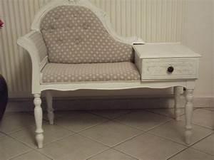 Meuble Pour Téléphone : meuble telephone patine deco ~ Teatrodelosmanantiales.com Idées de Décoration