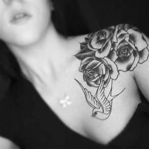 Top 10 Most Attractive Women Shoulder Tattoo Designs 2014 ...