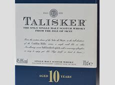 Whisky Review Talisker 10 Year Old Cigar Inspector