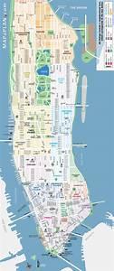 Plan De Manhattan : new york maps on pinterest london map illustrated maps ~ Melissatoandfro.com Idées de Décoration