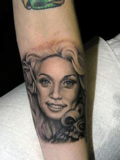 35 Amazing Dolly Parton Tattoos - Page 2 of 3 - NSF - Music Magazine