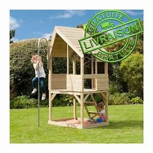 cabane maison de jardin en bois pour enfants tp play house With photo cuisine exterieure jardin 4 minnie maison cabane pour enfant achat vente