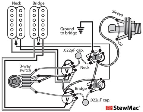Stagg Bas Guitar Wiring Diagram by Switchcraft 3 Way Toggle Switch Stewmac