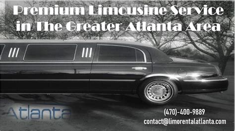 Limo Services In My Area by Premium Limousine Service In The Greater Atlanta Area