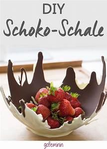 Essbare Geschenke Selber Machen : essbare schokoladen schale zum selbermachen diy step by step in 2019 pinterest ~ Orissabook.com Haus und Dekorationen