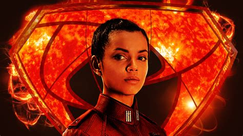 wallpaper georgina campbell lyta zod krypton  tv