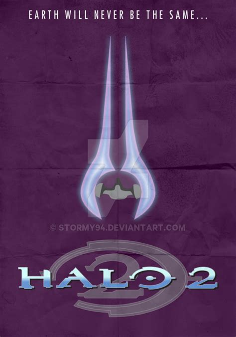Halo 2 2004 Minimalist Poster By Stormy94 On Deviantart