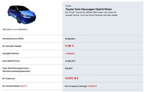 prämie für diesel toyota umweltpr 228 mie bzw hybridpr 228 mie 2018 hybrid modelle