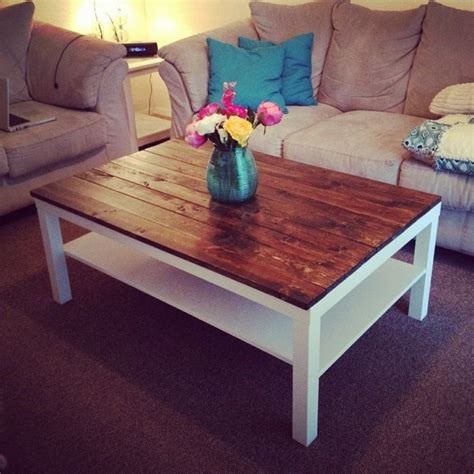 This means versatility in how to make much superior living room decor ideas. unusual coffee tables for sale Collection-This is a cool Ikea hack one of the plain cheap coffee ...