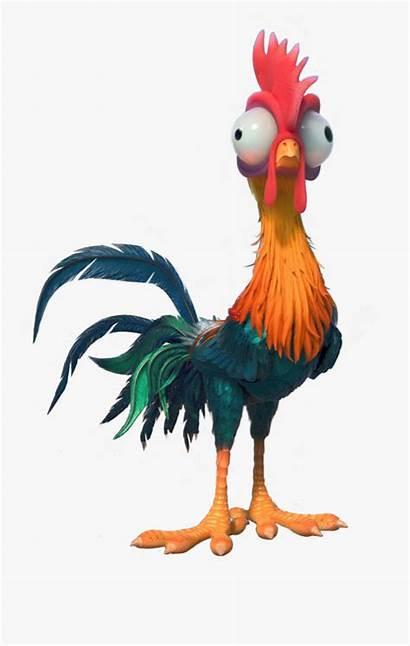 Moana Hei Chicken Disney Clipart Clip Heihei