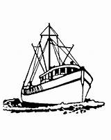 Boat Fishing Coloring Sail Draw Drawing Boats Fisherman Stencil Drawings Sketch Printable Sailing Kidsplaycolor Getcolorings Getcoloringpages Button Through Shark sketch template