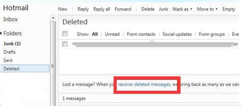 Recover Deleted Email From Outlook/gmail/hotmail/yahoo