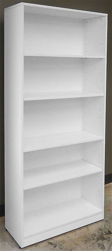 White Office Bookcase by L Shaped White Reception Desk W Frosted Glass Panel
