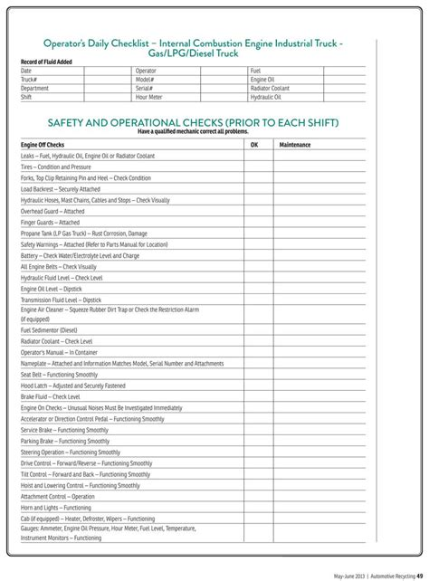 Facility Audit Form Templates Just B Cause