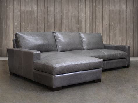 Leather Loveseat With Chaise by Braxton Leather Sofa Chaise Sectional Leather