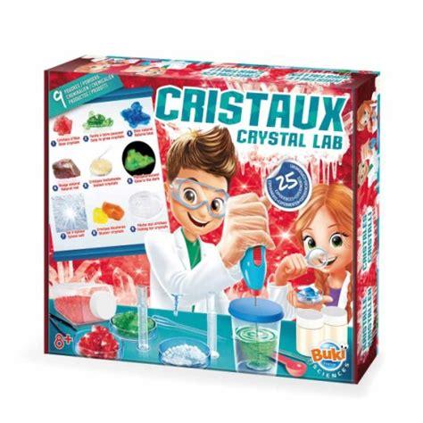 jeux de cuisine pour les grands grand coffret cristaux 25 expériences buki pour enfant dès