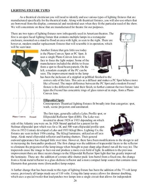 types of stage lights types of stage lighting lighting ideas