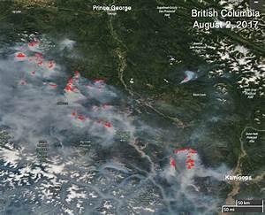 Over 100 Active Wildfires In British Columbia