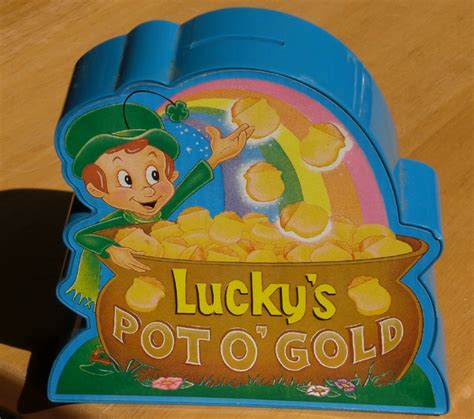 pot of gold lucky charms lucky charms pot o gold musical coin bank general mills ebay