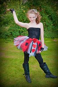 Only Queen Of Hearts Tutu Dress Halloween Costumes