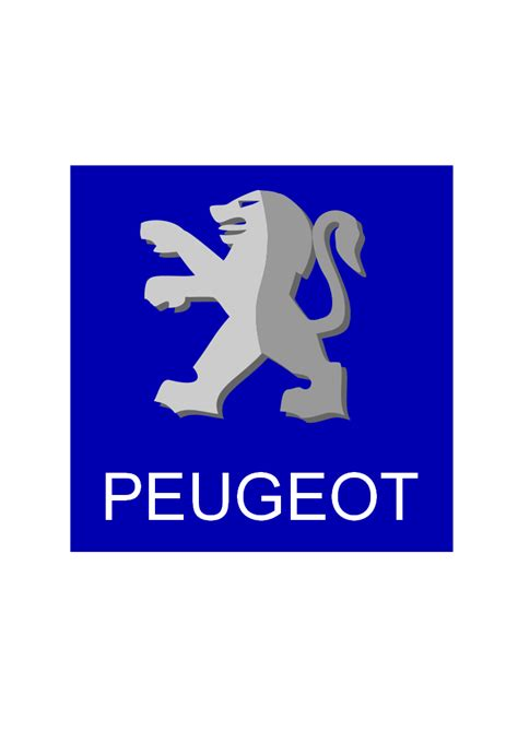 Logo Peugeot by Peugeot Logo Auto Logo