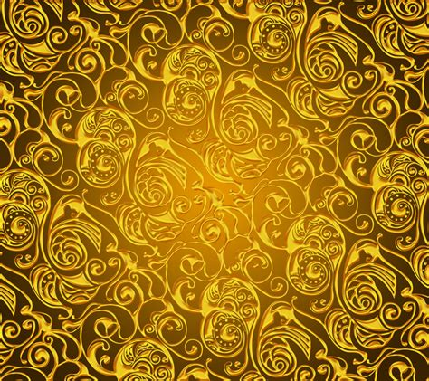 Golden Hd Wallpaper For Your Mobile Phone