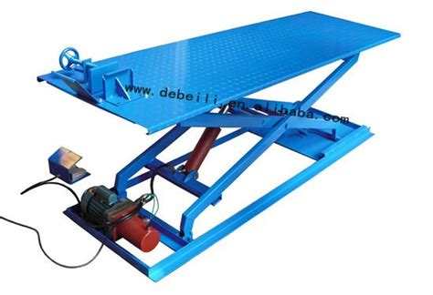 500kg Capacity Electric Hydraulic Motorcycle Lift