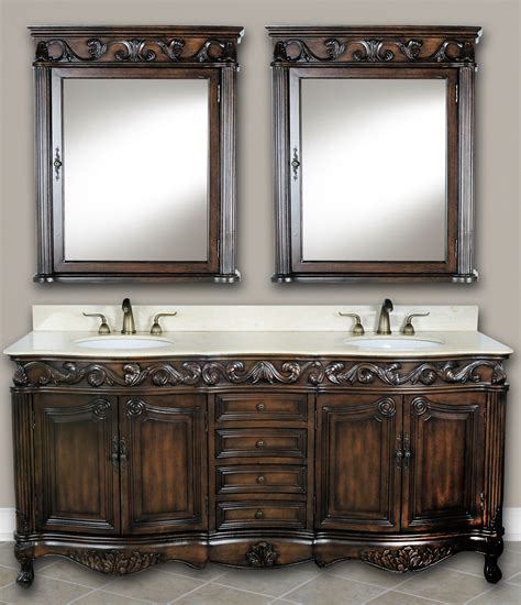 73 Inch Mayfield Vanity   Double Sink Vanity   Antique