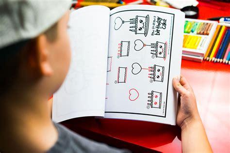 draw funny food art  kids hub